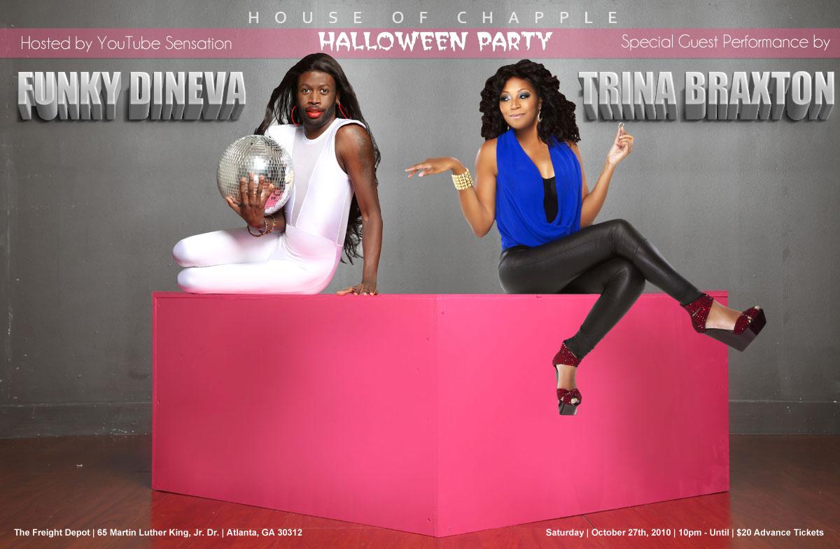 House of Chapple Halloween Party Flyers - MATRIXX